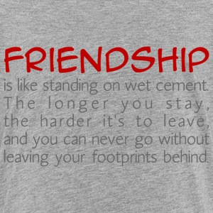 Friendship is like wet cement Baby & Toddler Shirts - Toddler Premium T-Shirt