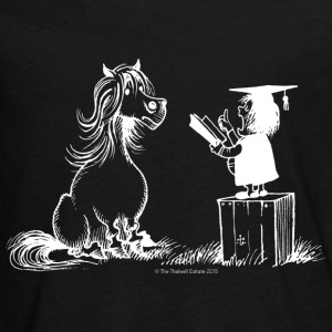 Thelwell Pony Learning At School Teacher - Kids' Premium Long Sleeve T-Shirt