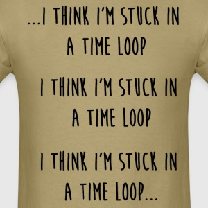 time loop T-Shirts - Men's T-Shirt
