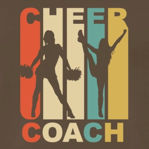 Vintage Cheer Coach Cheerleading Graphic - Men's Premium T-Shirt