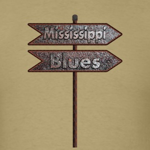 Mississippi Blues - Men's T-Shirt