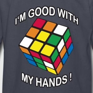 Rubik's Cube Good With My Hands - Kids' Long Sleeve T-Shirt