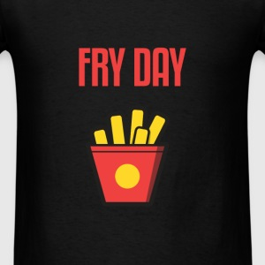 Funny - Fry day - Men's T-Shirt