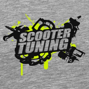 Scootertuning g/b - Men's Premium T-Shirt