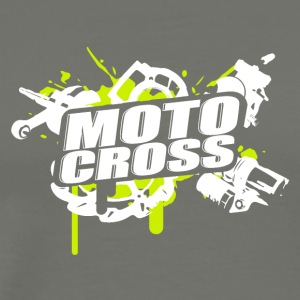 Motorcross Cross Vol.I g/w - Men's Premium T-Shirt