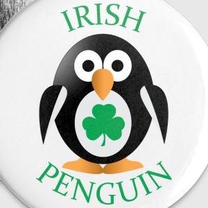 Irish penguin Buttons - Small Buttons