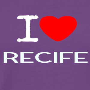I LOVE RECIFE - Men's Premium T-Shirt