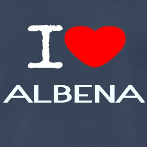 I LOVE ALBENA - Men's Premium T-Shirt