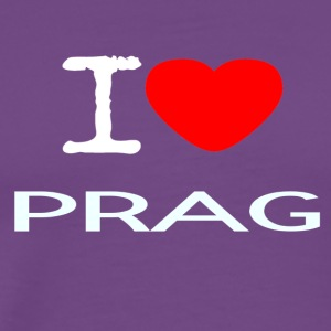 I LOVE PRAG - Men's Premium T-Shirt