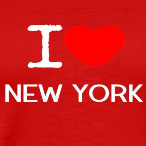 I LOVE NEW YORK - Men's Premium T-Shirt