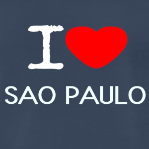 I LOVE SAO PAULO - Men's Premium T-Shirt