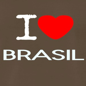 I LOVE BRASIL - Men's Premium T-Shirt