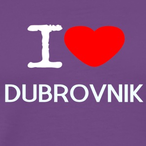 I LOVE DUBROVNIK - Men's Premium T-Shirt