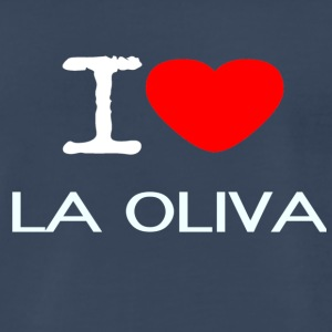 I LOVE LA OLIVA - Men's Premium T-Shirt