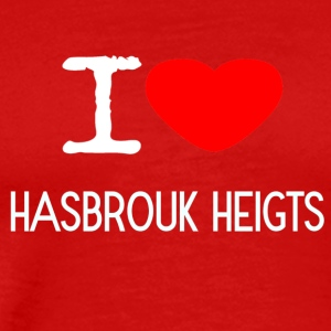 I LOVE HASBROUK HEIGTS - Men's Premium T-Shirt