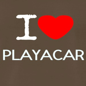 I LOVE PLAYACAR - Men's Premium T-Shirt