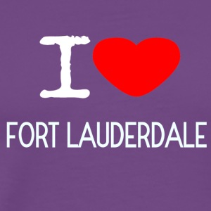 I LOVE FORT LAUDERDALE - Men's Premium T-Shirt