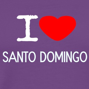 I LOVE SANTO DOMINGO - Men's Premium T-Shirt
