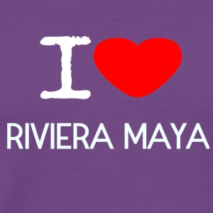 I LOVE RIVIERA MAYA - Men's Premium T-Shirt