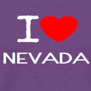 I LOVE NEVADA - Men's Premium T-Shirt