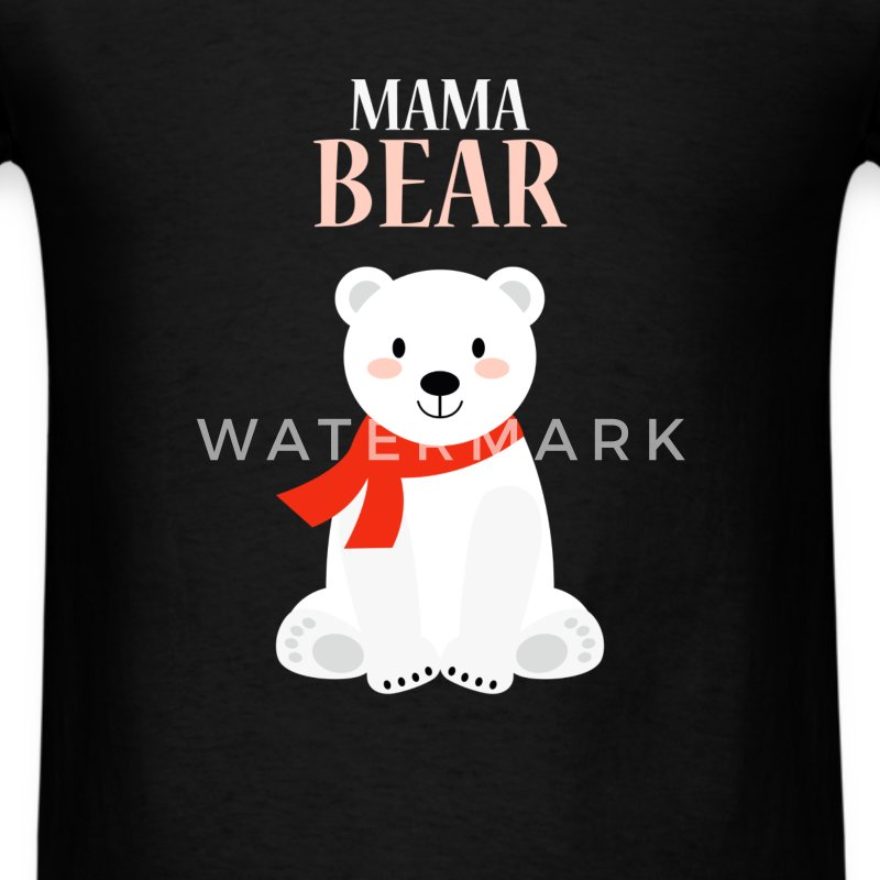 Mother - Mama bear - Men's T-Shirt