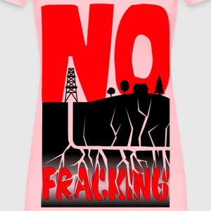 No Fracking - Women's Premium T-Shirt