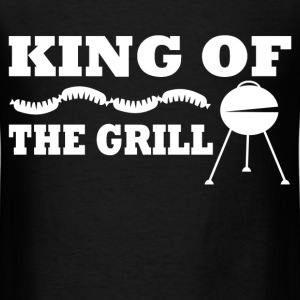 KING OF THE GRILL 2183981931.png T-Shirts - Men's T-Shirt