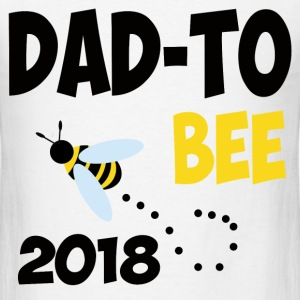 dad to be 2018.png T-Shirts - Men's T-Shirt