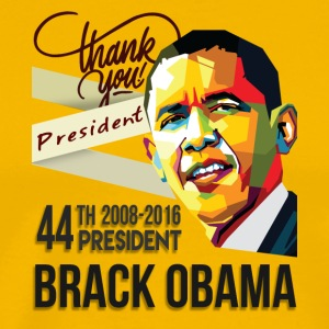 Thank You President Barack Obama 44th - Men's Premium T-Shirt