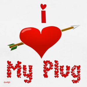 i_love_my_plug_2 - Men's Premium T-Shirt