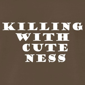 Killing with cuteness - Men's Premium T-Shirt