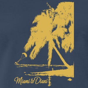 Miami To Diani Gold Collection - Men's Premium T-Shirt