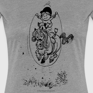 Thelwell Skipping Rope - Women's Premium T-Shirt