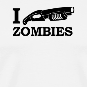 I SHOTGUN ZOMBIES - Men's Premium T-Shirt
