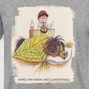Thelwell Sleeping Horse Warm And Confortable - Men's Premium T-Shirt