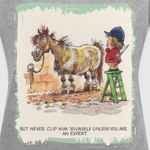 Thelwell Hairdresser Be A Expert - Women´s Roll Cuff T-Shirt