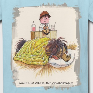 Thelwell Sleeping Horse Warm And Confortable - Kids' T-Shirt
