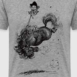 Thelwell Horse Rodeo - Men's Premium T-Shirt