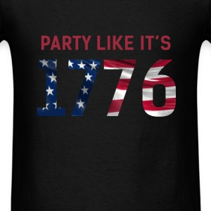 US Independence Day - US Independence Day - Party  - Men's T-Shirt