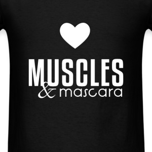 Fitness Girl - Muscles & mascara - Men's T-Shirt