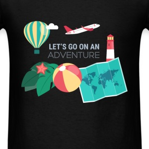 Travel - Let's go on an adventure - Men's T-Shirt