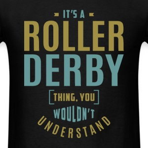 Roller Derby T-shirt - Men's T-Shirt