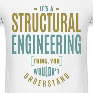 Structural Engineering T-shirt - Men's T-Shirt