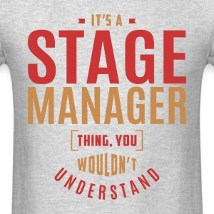 Stage Manager T-shirt - Men's T-Shirt