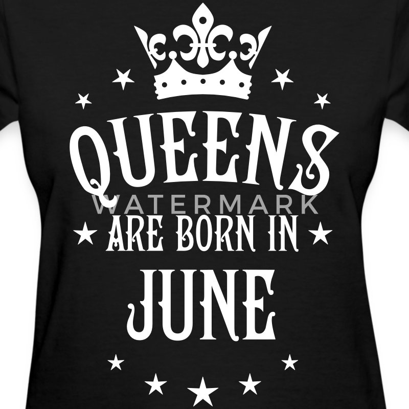 Queens are born in May Crown Stars sexy Woman Tee - Women's T-Shirt