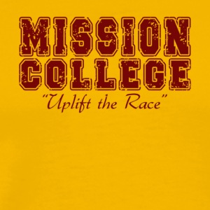 MISSION COLLEGE MAROON - Men's Premium T-Shirt