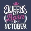 Born Birthday Bday Queens October Tanks - Women's Premium Tank Top