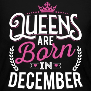 Born Birthday Bday Queens December Long Sleeve Shirts - Women's Long Sleeve Jersey T-Shirt