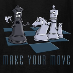 chess_make_your_move_11_2016 Kids' Shirts - Kids' T-Shirt