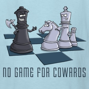 chess_no_game_for_cowards_11_2016 Kids' Shirts - Kids' T-Shirt